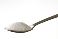 creatine powder spoon