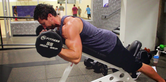 how to get your arms bigger with dumbbells